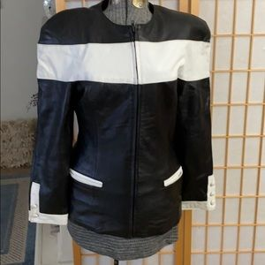 Tannery Weat leather Jacket